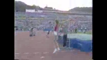 Световният рекорд по висок скок на Българка!!