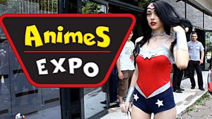 Animes Expo 2016 ден първи - косплей събитие