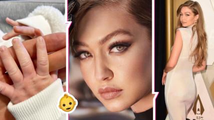 Звезден дебют: Йоланда Хадид показа дъщеричката на Джиджи, сравни я с ангел