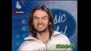 Music Idol 2 - Изпълнението На Тома песента Обичам те  Good Quality 31.03.2008