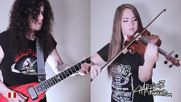Guitar Vs Violin A heavy metal battle Charlie Parra Faridde Caparo
