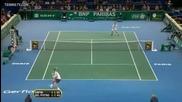 Safin vs Del Potro R2 Highlights Bnp Paribas Paris Masters 2009