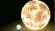 Най-голямата звезда във Вселената, съпоставена със Слънцето
