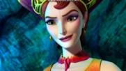 Барби в приказката за малката русалка - Кралица Калиса и Ерис