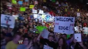 Edge returns for one night only