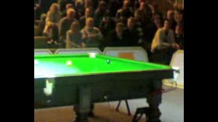 Ronnie OSullivans 147 break(world record)