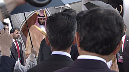 Japan: Saudi's MbS arrives in Osaka for G20 summit