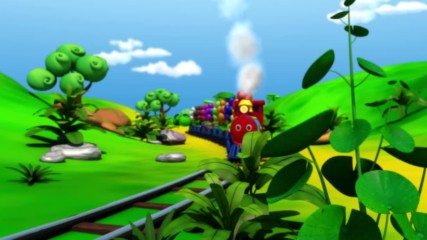 The Color Train Song Learn Colors with the Littlebabybum Train