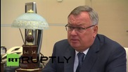 Russia: New 'Post Bank' will bring financial services to 15 million Russians - CEO of VTB Bank