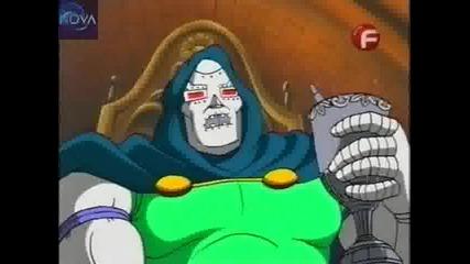 Фантастичната четворка Tas епизод 08 - The Mask of Doom Part 1 Bg Audio