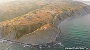 Девствените брегове на нос Емине в България заснети с дрон