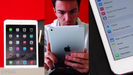 Какво да си купя: iPad mini 3 или iPad mini 2