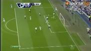 Първо Полувреме : Манчестър Сити 2-0 Ню Касъл
