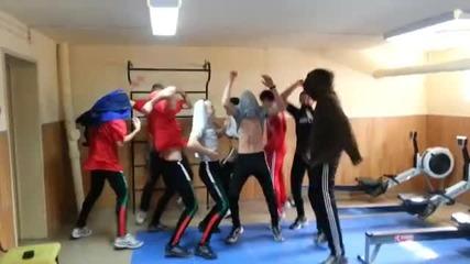 Harlem Shake - Гребане Цска