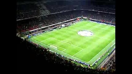 Милан - Арсенал - Тифози