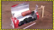 Как да превърнем празно кенче от напитка в мини барбекю