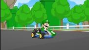 Ето какво става ако Супер Марио полудее - Смях!