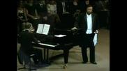 Pavarotti la promessa rossin
