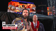 Roman Reigns kept his word: WWE Network Exclusive, April 11, 2021