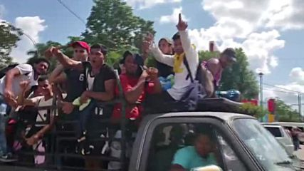 Mexico: Thousands-strong migrant caravan marches on through Tapachula