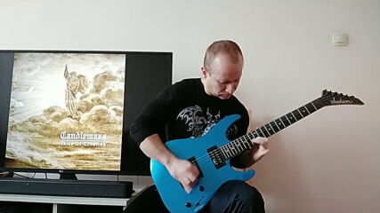 Oki Guitar Player-into The Unfathomed Tower (candlemass cover).mp4