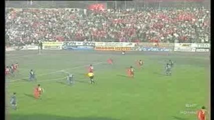 Левски Цска 2 - 1 2004