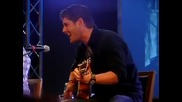 Jensen Ackles sing The weight