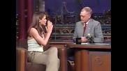 Jennifer Garner - Late Show With David Lat