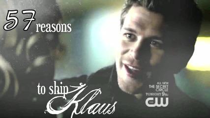 57 reasons to ship Klaus and Caroline