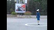 Ето в Кореа как патрулират полицаите