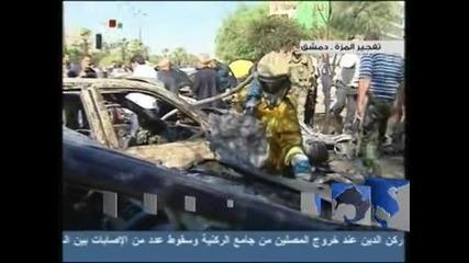 Пет жертви на атентат пред джамия в Дамаск