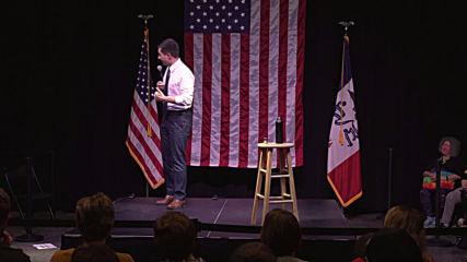USA: Democratic candidate Buttigieg rallies voters ahead of Iowa caucuses