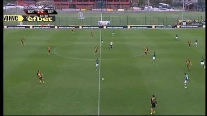 Трите гола на Ботев срещу Берое