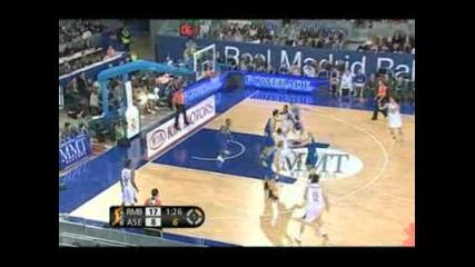 Real Madrid Baloncesto 76 - 72 Bizkaii Bilbao