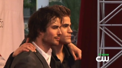 cw522-Paul Wesley and Ian Somerhalder Team Up Off Screen!