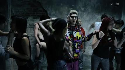 Dev ft. The Cataracs - Bass Down Low ( Високо Качество ) + Tekct