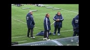 Меси пропусна първата тренировка на Аржентина в Стокхолм