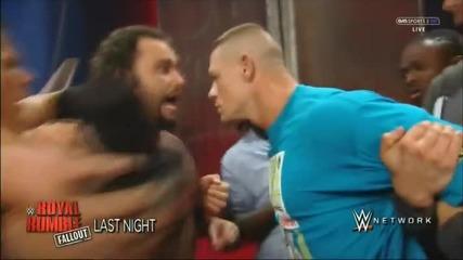 Rusev spoils John Cena Interview