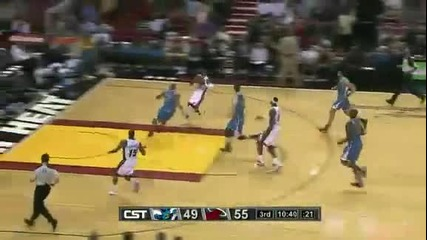 New Orleans Hornets @ Miami Heat 95 - 109 [30.01.2012]