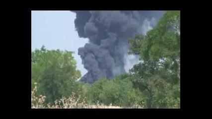 Пожарът В Завод Химик - Град Асеновград