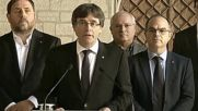 Spain: Catalonian govt. targeted with 'coordinated aggression' by Spanish state, police - Puigdemont