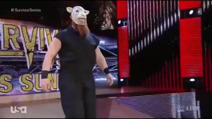 Wwe Raw Team Cena Beats Team Authority
