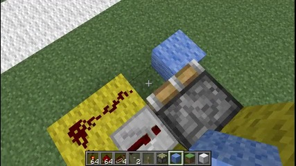 Minecraft Hidden Entrance with R. Torch Tutorial(on the wall) (kak da si napravim)