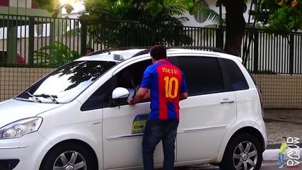 Щура шега с таксиджии