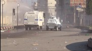 Turkey: Police use water cannon amid clashes at HDP rally in Batman