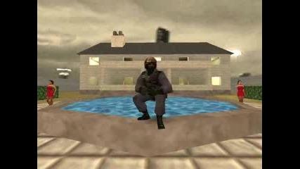 Много яка пародия на Counter Strike с музика