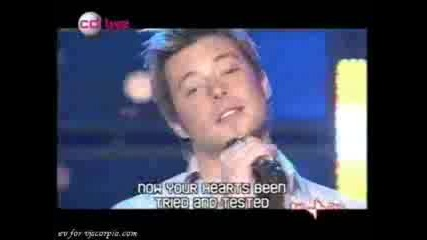 Duncan James - Sooner Or Later (live)