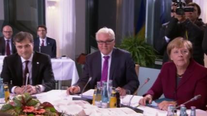Germany: Putin and Poroshenko attend Normandy Four talks on Ukraine