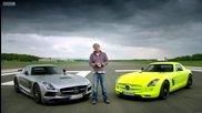 Top Gear Mercedes Sls Amg vs E-cell