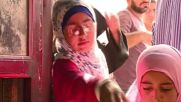 Syria: Starved Aleppo residents line up for badly needed food aid